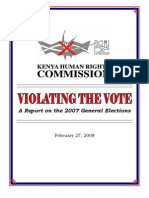 Violating the Vote