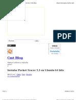 Instalar Packet Tracer en Ubu64