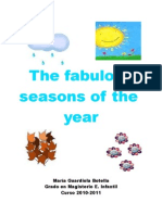 Didactic Unit - The seasons