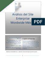 ANALISIS DEL  WEB SITE ENTERPRISE WORDWIDE MÉXICO