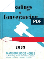 Pleadings and Conveyancing