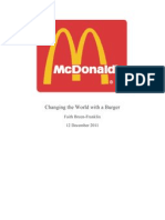 Changing the World With a Burger
