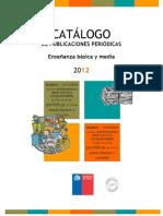 Catalogo2012 publicacionescra