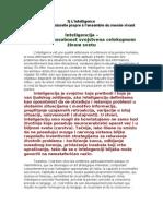 Intelligence - Faculte Naturelle Propre a l Ensemble Du Monde Vivant Prevod