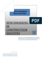 Bench Marking Report