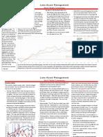Lane Asset Management Stock Market Commentary November 2011