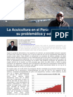 La Acuicultura en El Peru, Problematic A y Soluciones