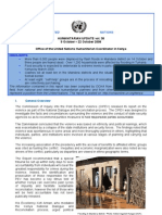 9 - 22 October 2008 | OCHA Kenya Humanitarian Update Volume 38 | PDF Format