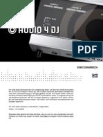 Audio 4 DJ Manual German