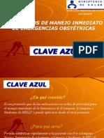 PRESENTACIÓN CLAVE AZUL