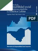 Valoración de la responsabilidad social de las empresas españolas en América Latina
