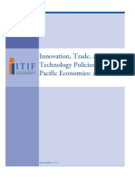 Innovation, Trade, and Technology Policies in Asia-Pacific Economies