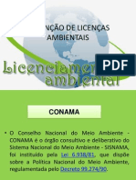 UNIDADE II - OBTENÇÃO DE LICENÇAS AMBIENTAIS