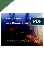 Ilmu, Sains Dan Knowledge
