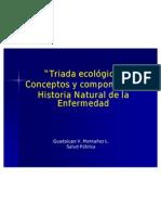 Triada Ecologica Historia Natural de La Enfermedad