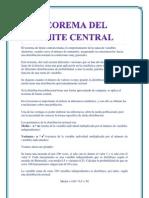 El teorema de límite central