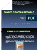 BOMBEO ELECTROSUMERGIBLE
