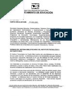 CC Bibs. ITPR 29-2004-2005