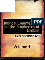 The Prophecies of Ezekiel Vol 1 - Carl Friedrich Keil