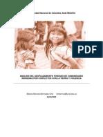 ANÁLISIS DEL DESPLAZAMIENTO FORZADO DE COMUNIDADES INDÍGENAS POR CONFLICTOS CON LA TIERRA Y VIOLENCIA