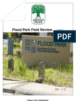 City of Menlo Park (CA) Staff Report On Flood Park