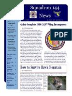 Squadron 144 News - September 2010