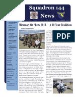 Squadron 144 News - November 2011