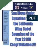 Squadron 144 News - September 2011