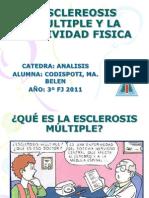 Esclereosis Multiple y La Actividad Fisica Belen Codispoti