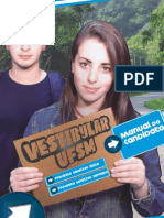 Manual Do Candidato - Vestibular UFSM 2011 - COPERVES