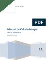 Manual de Calculo Integral