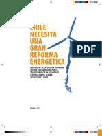 Informe de Comision Ciudadana Tecnico Parlamentaria para la Política y Matriz Eléctrica