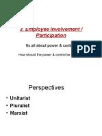 3. Employee Involvement - Participation.(.Mfg.mum.Univy.)