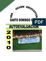AUTOEVALUACION INSTITUCIONAL 2010