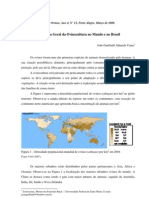 Panorama Geral Ovinocultura Brasil