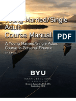 Young Married-Single Adult Course Manual 2010 Fall
