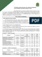 Edital 030 1 Vestibular 2012 Cursos Superiores Ifmg