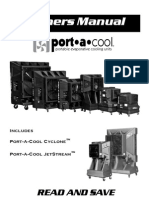 Evaporative Cooler Manual