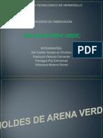 1 - Moldes de Arena Verde