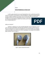 Newest Product Description-Earbud Headphones