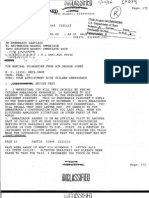 Harry Barnes's instructions to McCain about meetinhg Pinochet.