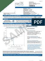 Sample Patient Report