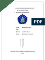 Cover Hasil Kajian Kondisi Dan Profil Sekolah
