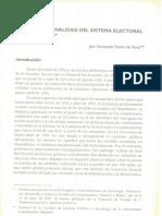 La proporcionalidad del sistema electoral salvadoreño - Fernando Harto de Vera