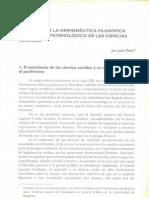 El aporte de la hermenéutica filosófica al debate - Julio Pinto