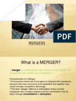 Mergers and Amalgamations