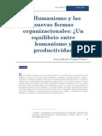 El Humanismo y Las Nuevas Formas Organizacionales