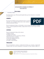 La legalización Notarial de Firmas y Documentos (nery Muñoz)