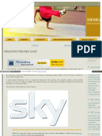 Designer Tuts Com Creating the Sky Logo