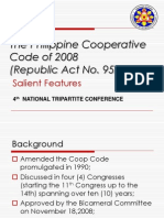 The Philippine Cooperative Code of 2008 Republic Act No 9520